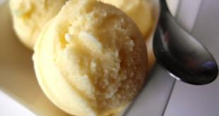sorbet ananas gingembre