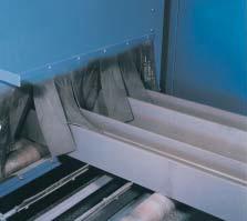 masini sablare tip tunel - tabla si profile