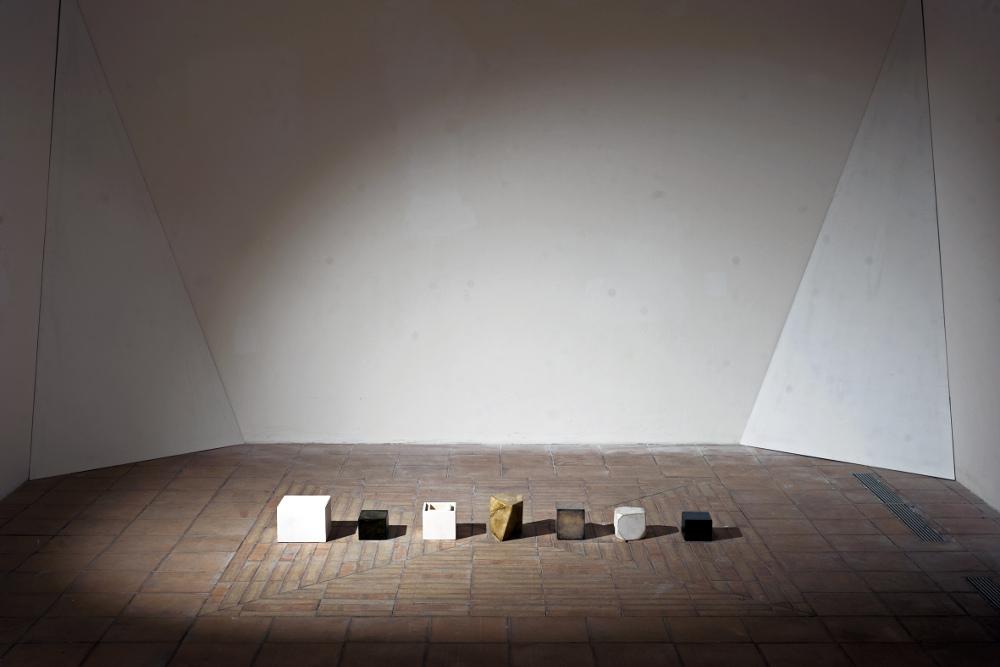 Sebastiano Dammone Sessa - veduta mostra Mobili equilibri