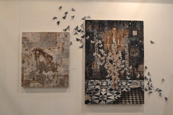 opere di Carla Bedini - ArtVerona 2016