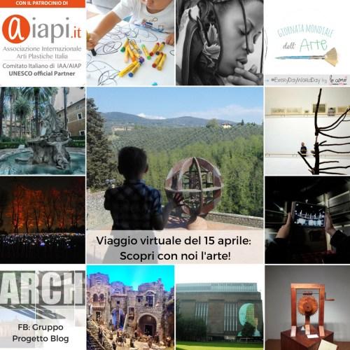 Viaggio Virtuale World Art Day 2017