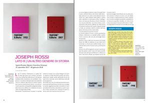 Joseph Rossi - Arte Contemporanea News