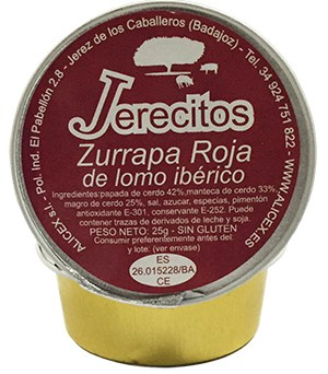 Zurrapa de Lomo Roja Jerecitos - Alicex