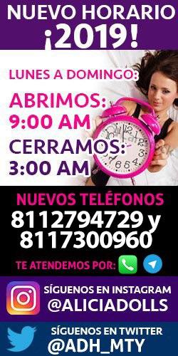 Horarios de Escorts en Monterrey Alicia Dolls