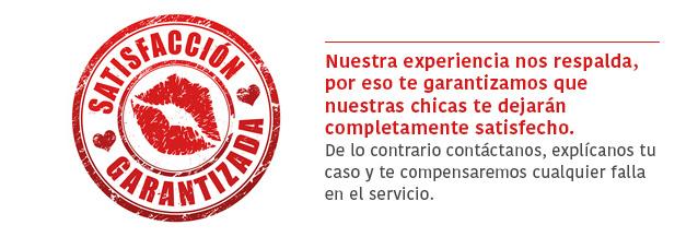 Garantía satisfaccion Escorts en Monterrey