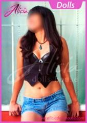 Dalia Escort en Monterrey con un chiqui short