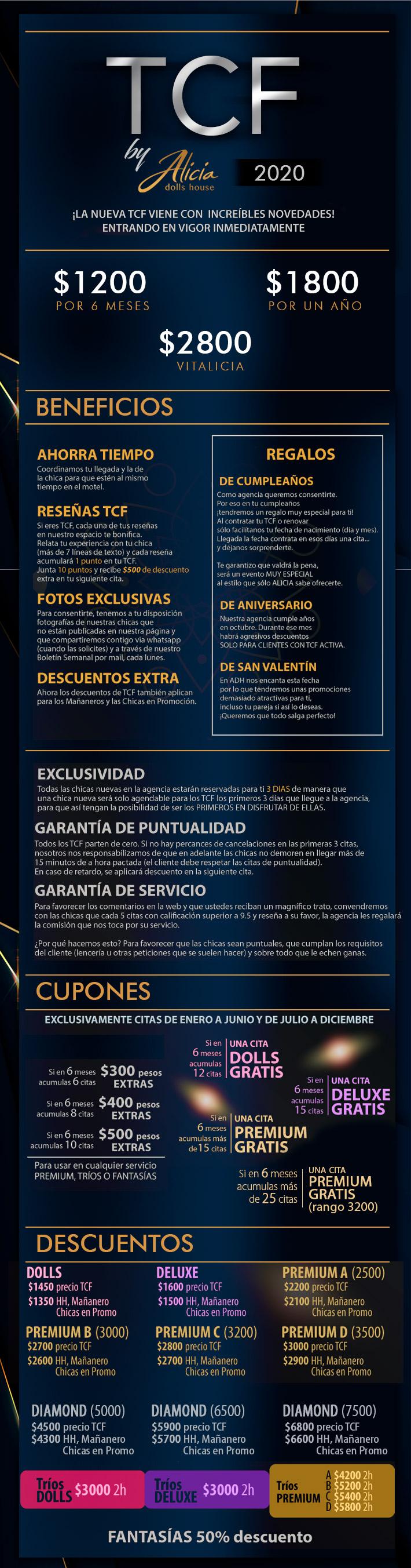 Tarjeta de Cliente Frecuente Aliciadollshouse Monterrey