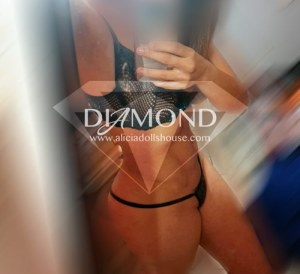 Aliciadollshouse escorts Monterrey Amelie diamond