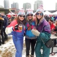 Como é um festival de cerveja no inverno, com e sem criança