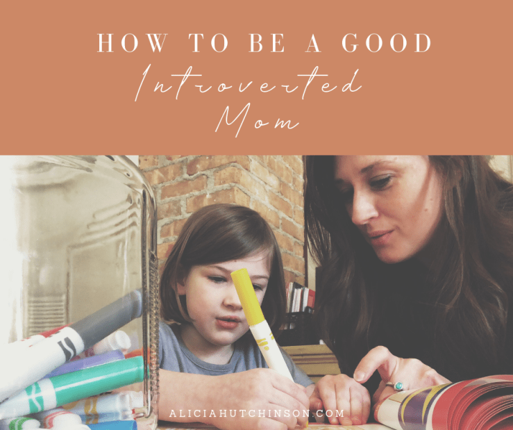 Are you an introverted mom? Feel like it's hard to balance with the constant noise of motherhood? This article is for you.