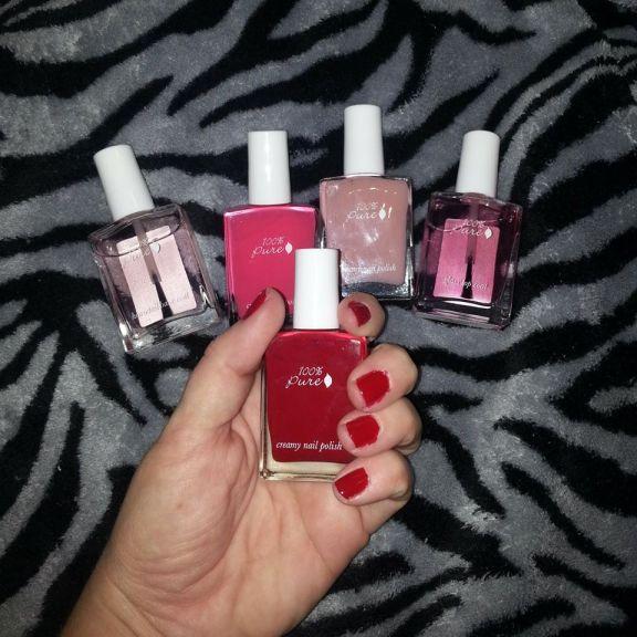 100 percent pure toxic free nail polish
