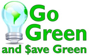 Go-Green-Save-Money Save Money Going Green