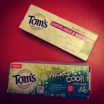 toms of maine toothpaste environmentally friendly businesses