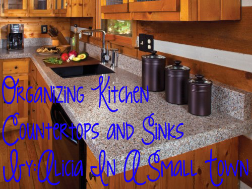 Organizing Kitchen Countertops and Sinks