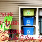 Recycling and Trash Organization
