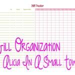 Bill Organization