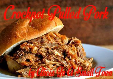 crockpot pulled pork sandwiches