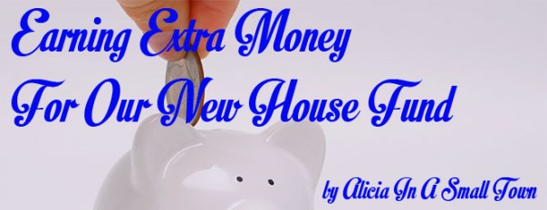 Extra money for a new house copy