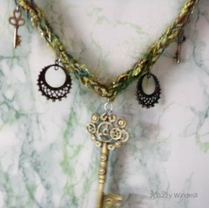 steampunk jewelry The Dizzy Windmill
