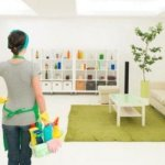 Keeping a tidy home…