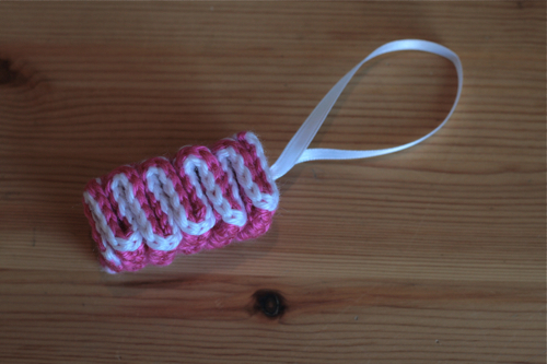 Creativity and Crocheting with ribbons