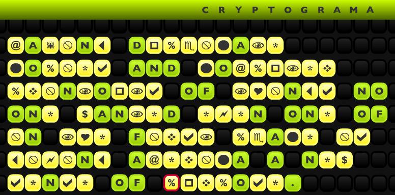 Cryptograma Screenshot
