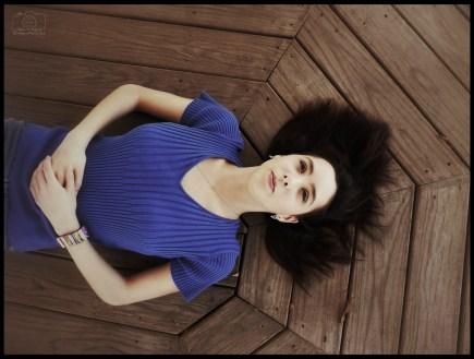Miriam - Blanco - Laying In The Gazebo - Sig - F