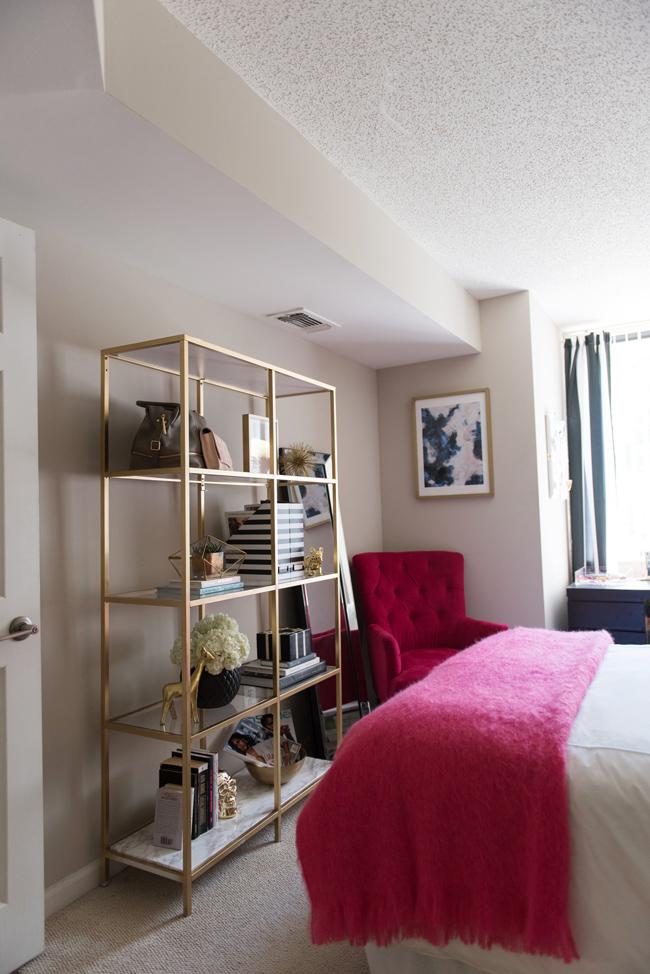 Diy Gold Amp Marble Ikea Bookcase Hack Alicia Tenise