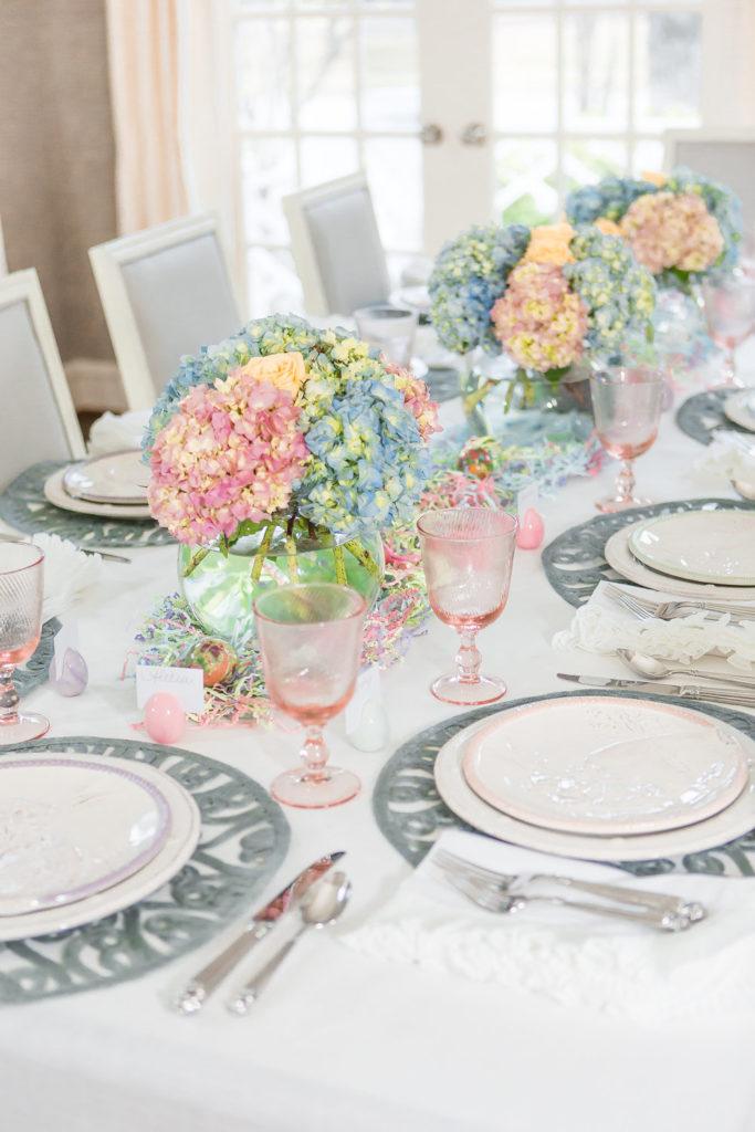 Juliska Easter Bunny Party Plates, Juliska Tablescape, Elegant Easter Tablescape, Dallas Lifestyle Blog