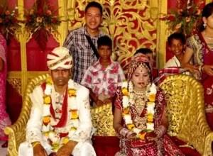 Groom and Bride Indian Wedding AlidAbdul