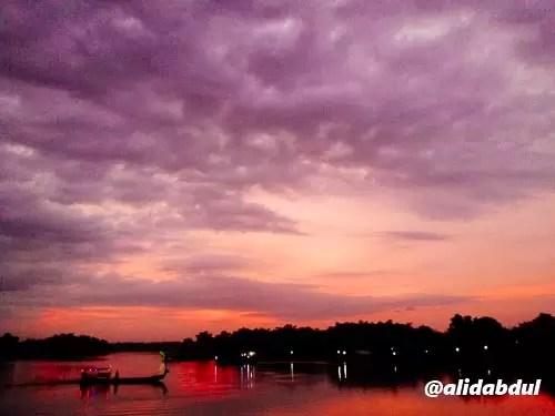 Sunset Tambangan Megaluh