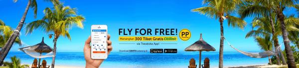 Traveloka Citilink Fly for Free