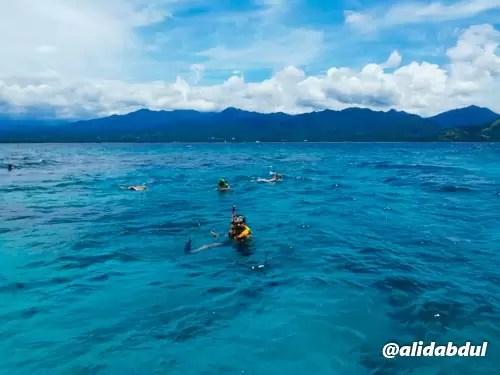 Alid Snorkeling Gili Trawangan 2