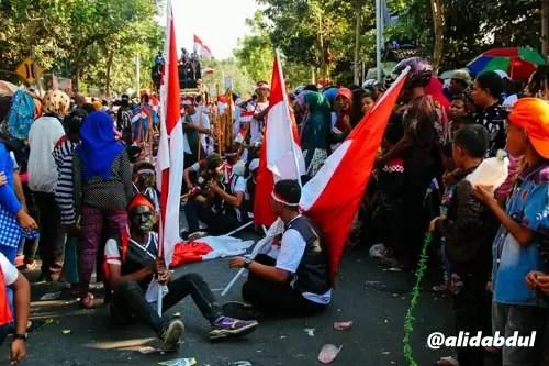 Aksi Teatrikal Pawai Budaya Jombang Alid (4)