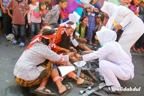 Aksi Teatrikal Pawai Budaya Jombang Alid (5)
