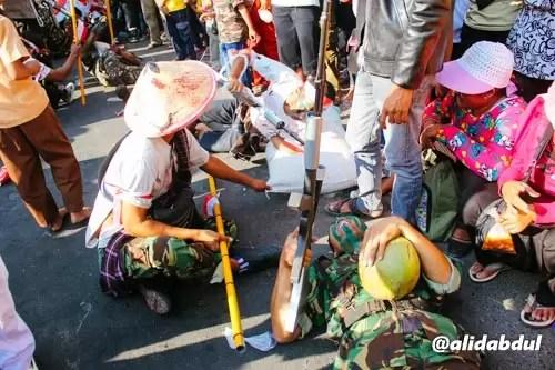 Aksi Teatrikal Pawai Budaya Jombang Alid (6)