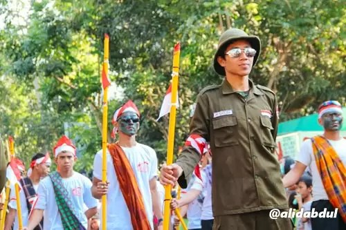 Aksi Teatrikal Pawai Budaya Jombang Alid (7)