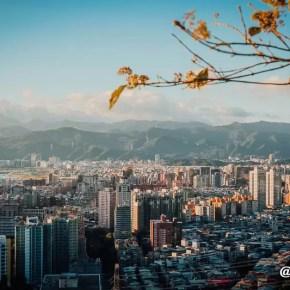 Sunset in Xiangshan Taipei 6