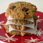 White Chocolate Coconut Cranberry Cookies
