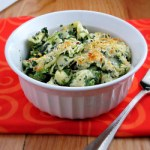 Baked Tortellini with Spinach