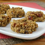 Healthy Banana Cookies - vegan, no added sugar and nut free | alidaskitchen.com