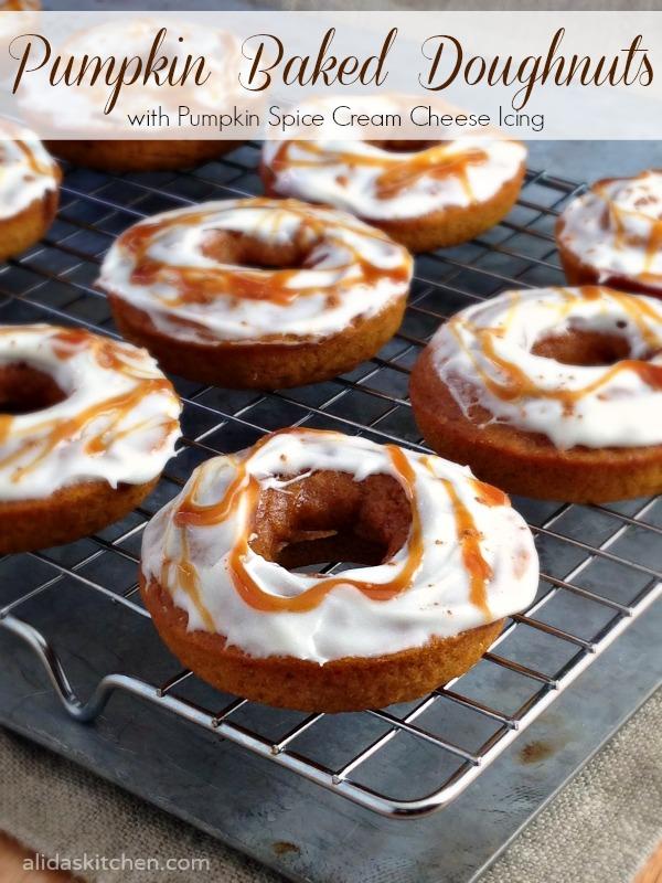 Pumpkin Baked Doughnuts #CMcantwaitCGC