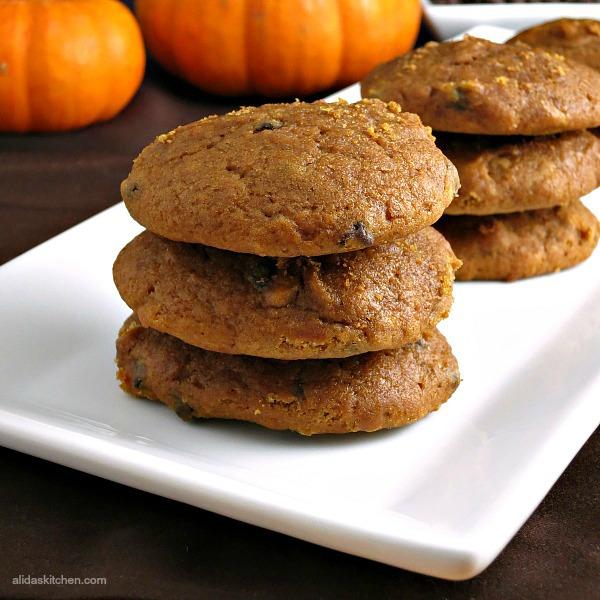 Pumpkin Muffin Cookies