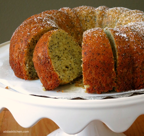 Lemon Poppy Seed Bundt Cake | alidaskitchen.com #recipes #bundtcakes #factsupfront #spon