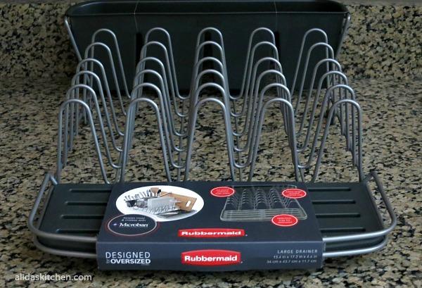 Rubbermaid Dish Rack - Cartwheel  #RMDishRack