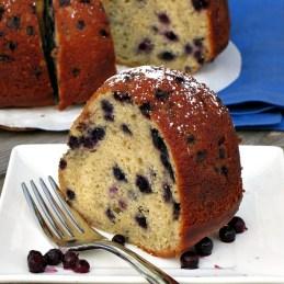 Blueberry Buttermilk Bundt Cake | alidaskitchen.com