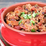 Black Bean Quinoa Chili