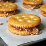 Chocolate Caramel Coconut RITZ Cookies