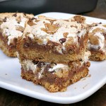 S'mores Blondies #SundaySupper