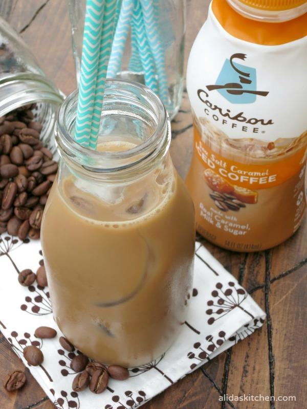 Iced Coffee Yogurt Pops | alidaskitchen.com